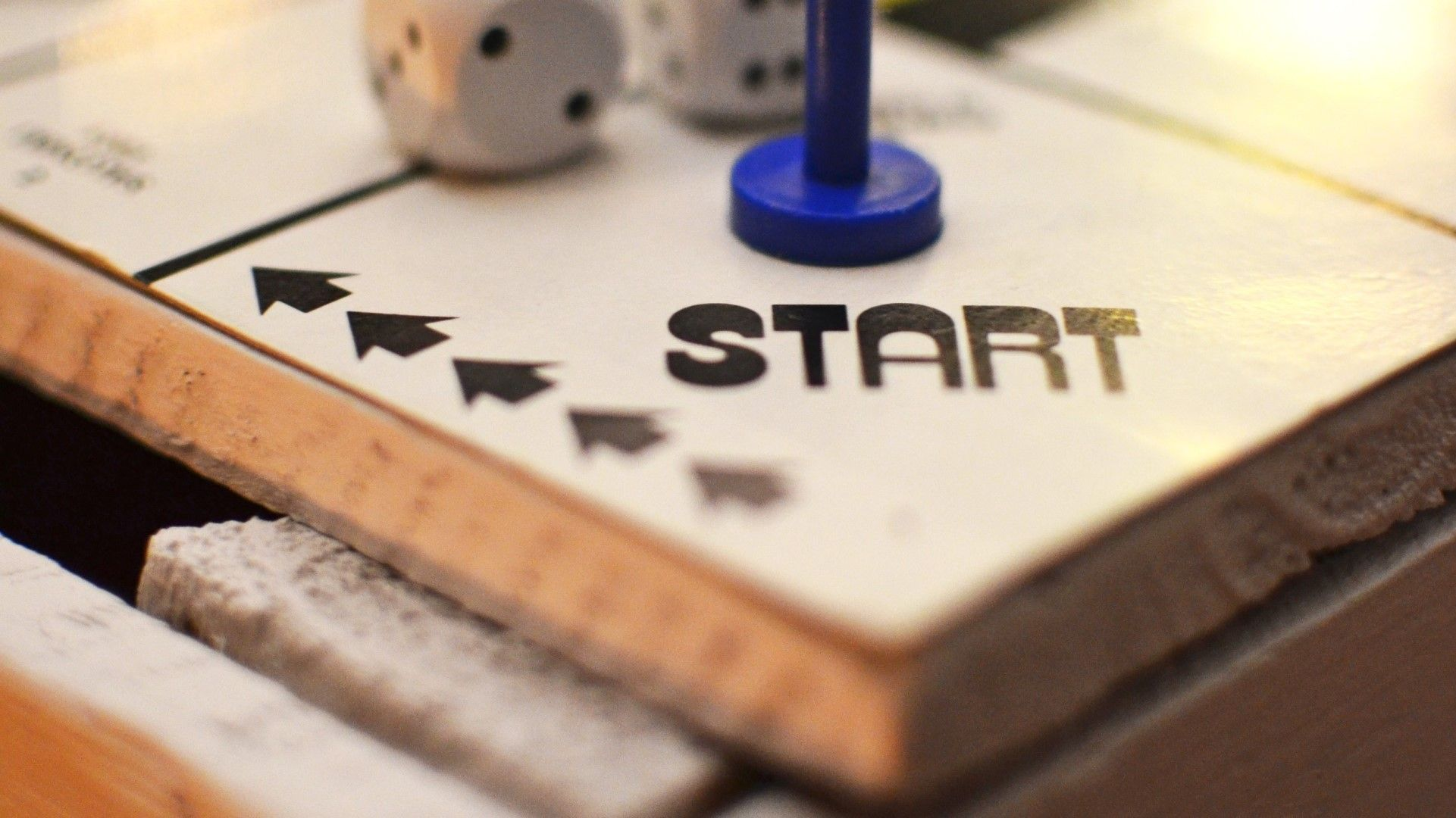 start tile on board game