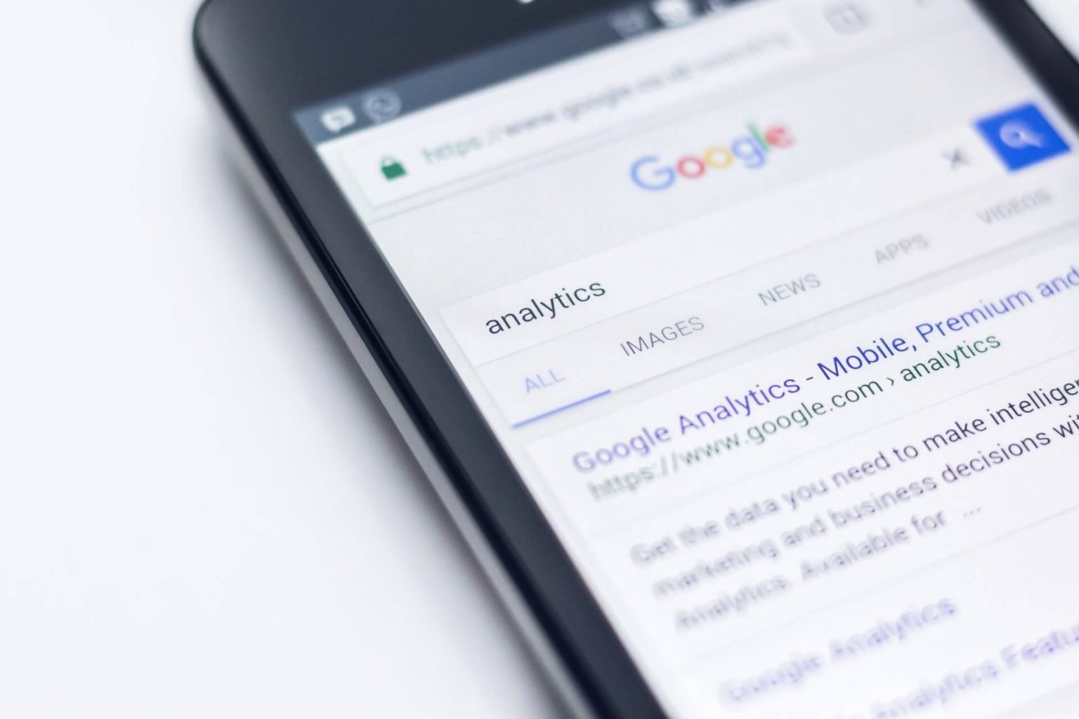 analytics search on google mobile